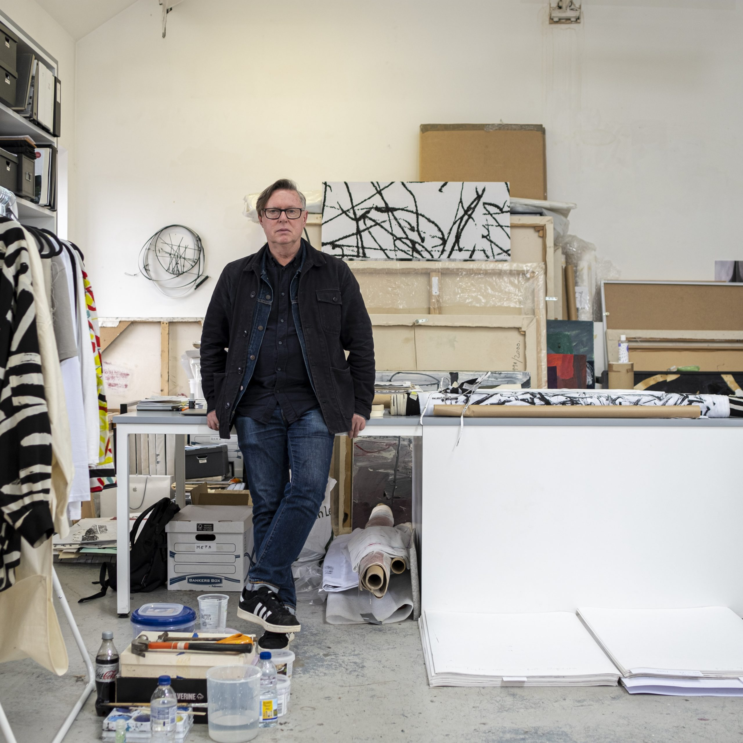 Read our interview with Fraser Taylor, an artist living in Partick